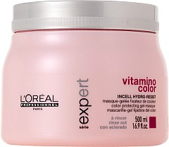 Loreal Vitamino Color Гел маска за боядисана коса 500мл.