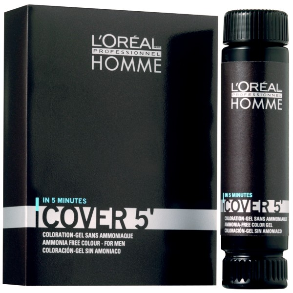 Loreal HOMME Cover 5 Боя за коса за мъже