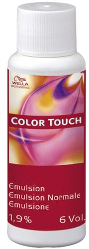 Wella Color Touch Емулсия 1,9% или 4% 60мл.