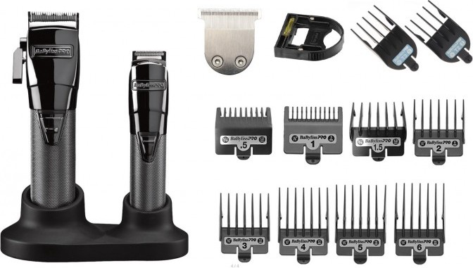BaByliss PRO 4Artists Gunsteel Combi FX8705E