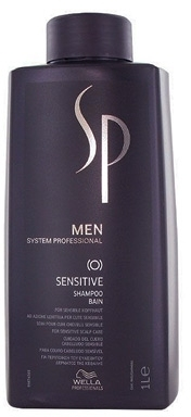 Wella SP Men Sensitive Shampoo 1000 ml. WSP20062012